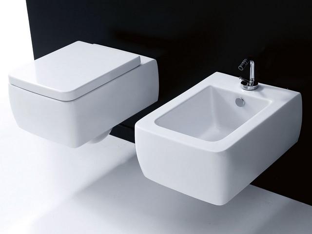 Sanitari per un bagno sanitari a pavimento o sospesi quali scegliere