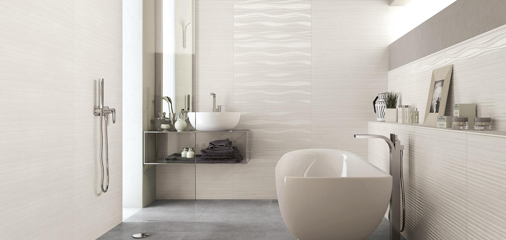 Piastrella bagno progettare e realizzare uno spazio di design - Ceramiche bagno moderno ...