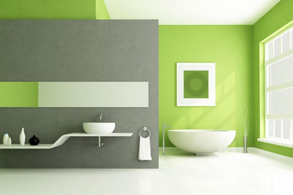 Nuove tendenze bagno: la pittura al posto delle piastrelle