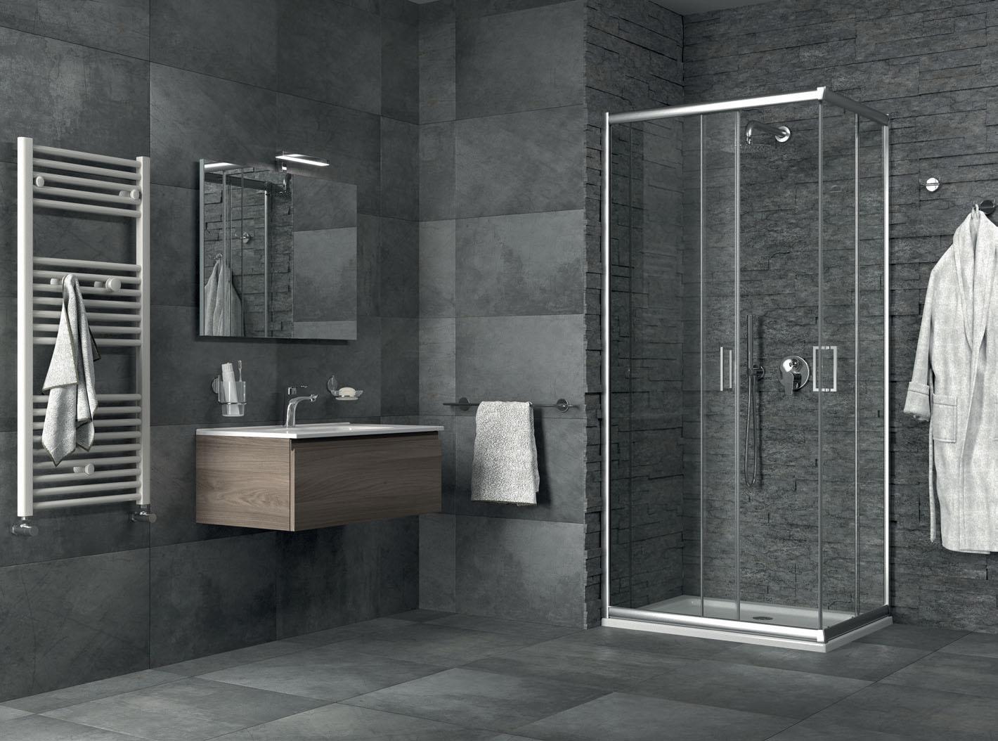 Bagno piastrella o resina quale materiale usare per una - Resina piastrelle bagno ...