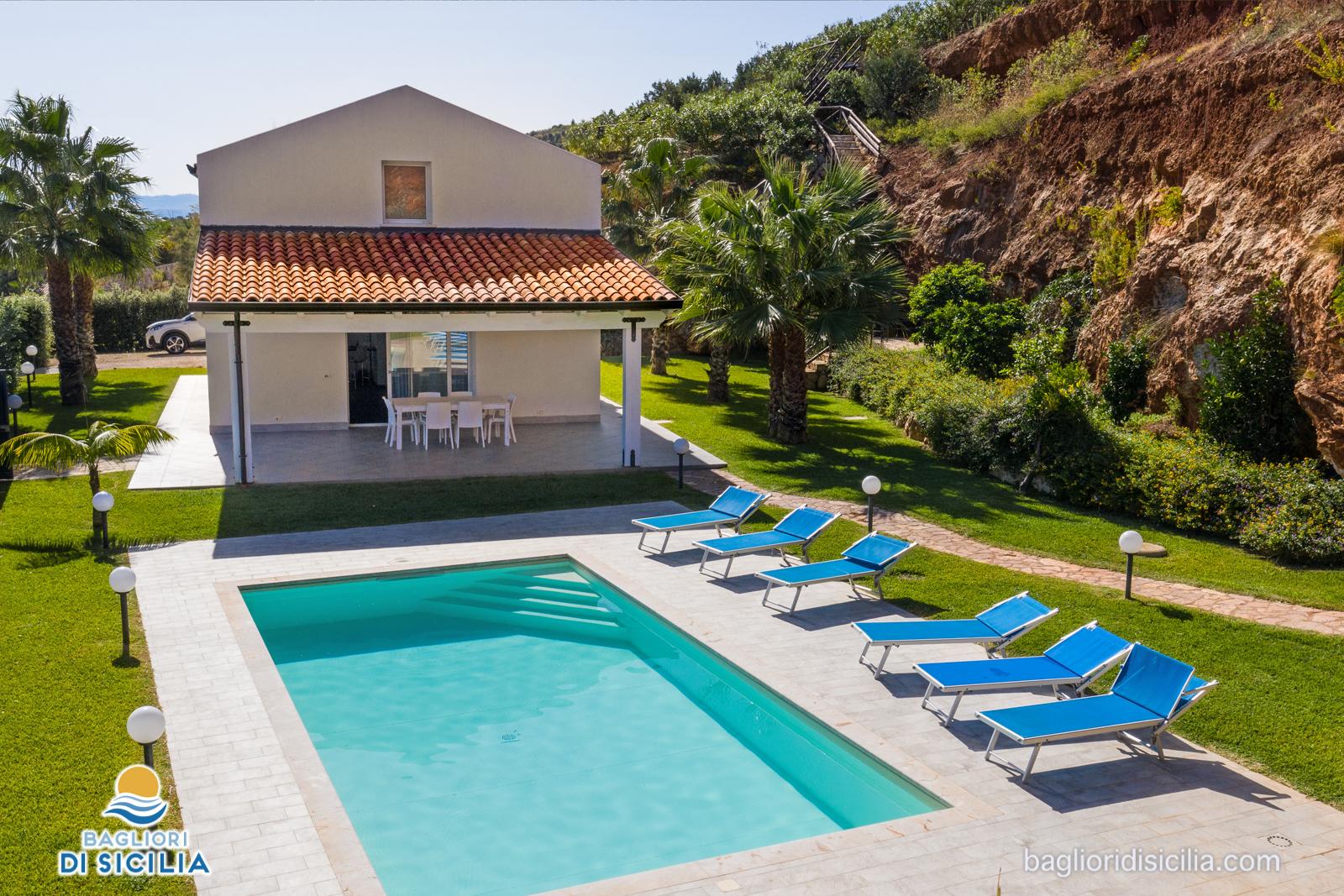 sicilia ville con piscina