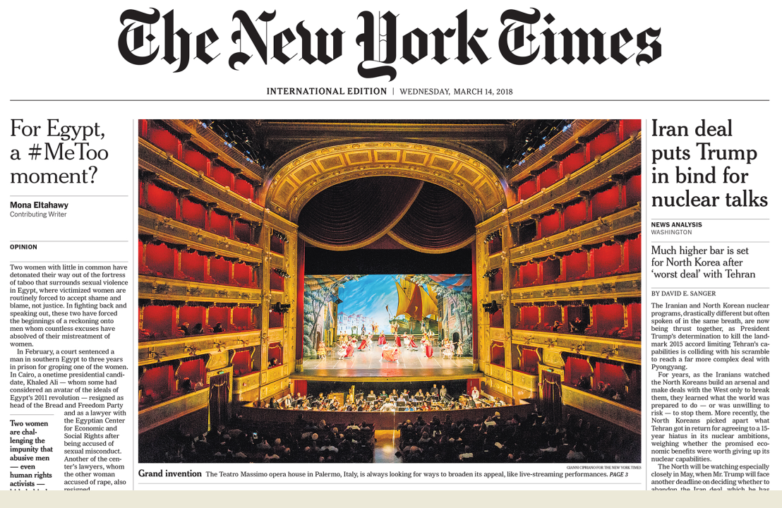 collegamento cultura New York Times