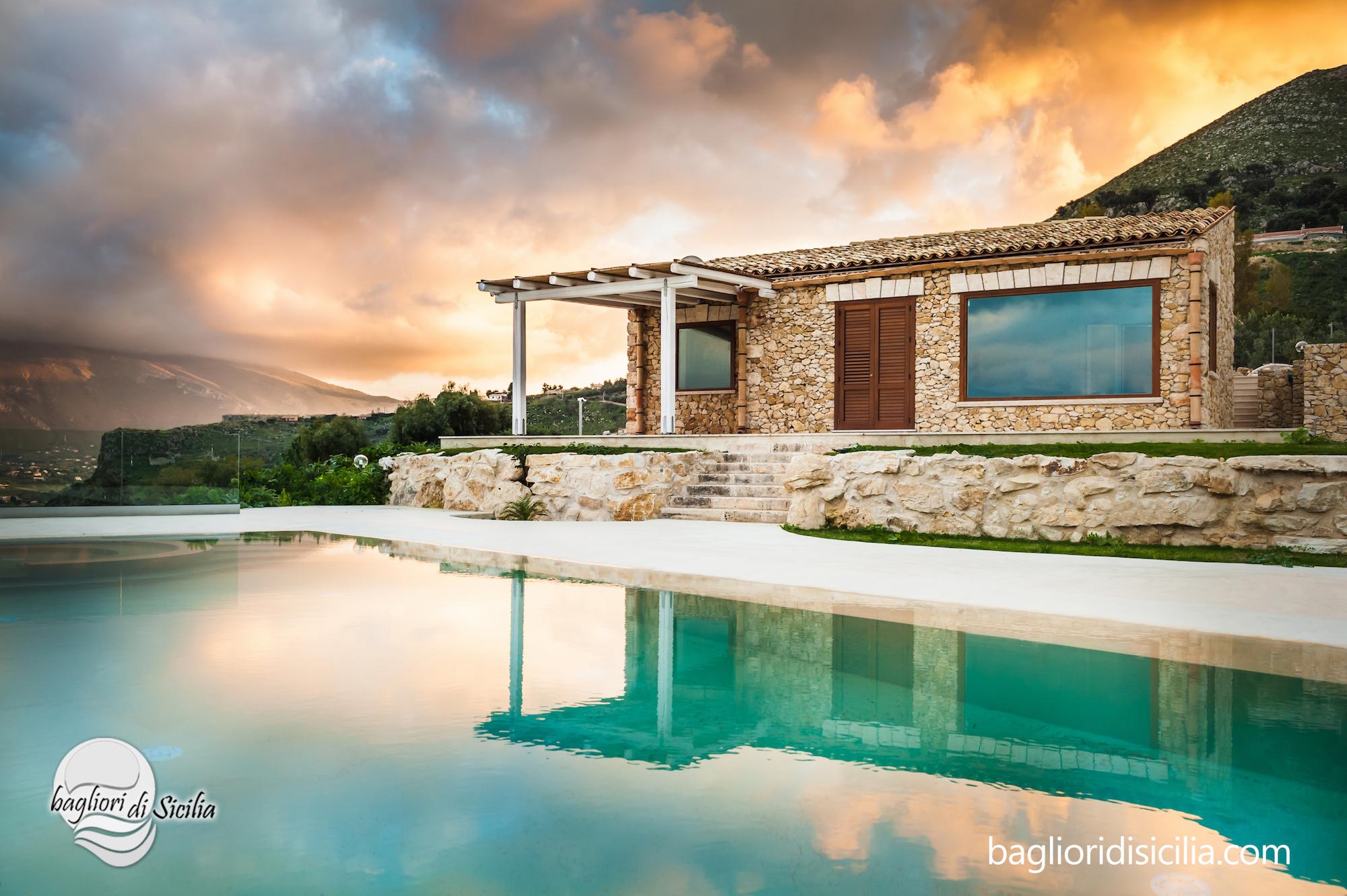 ville con piscina in sicilia